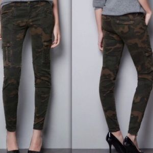 Zara army cargo pants